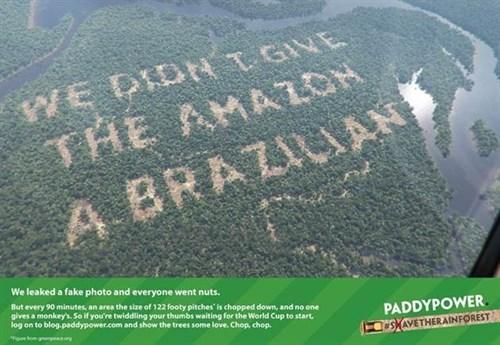 paddy power Amazon advert