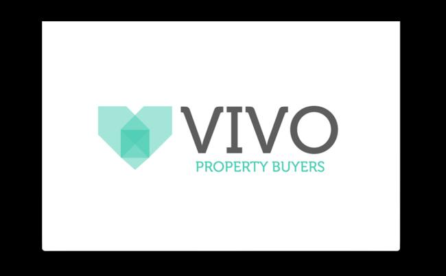 Vivo Property Buyers logo, created by atom42.