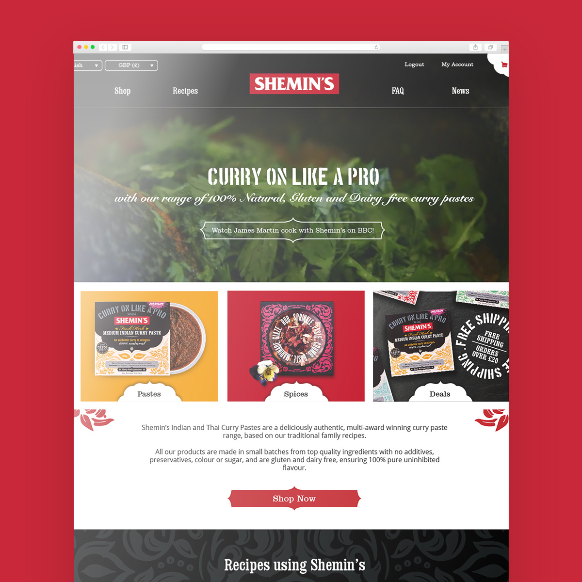 Web Design: Shemins