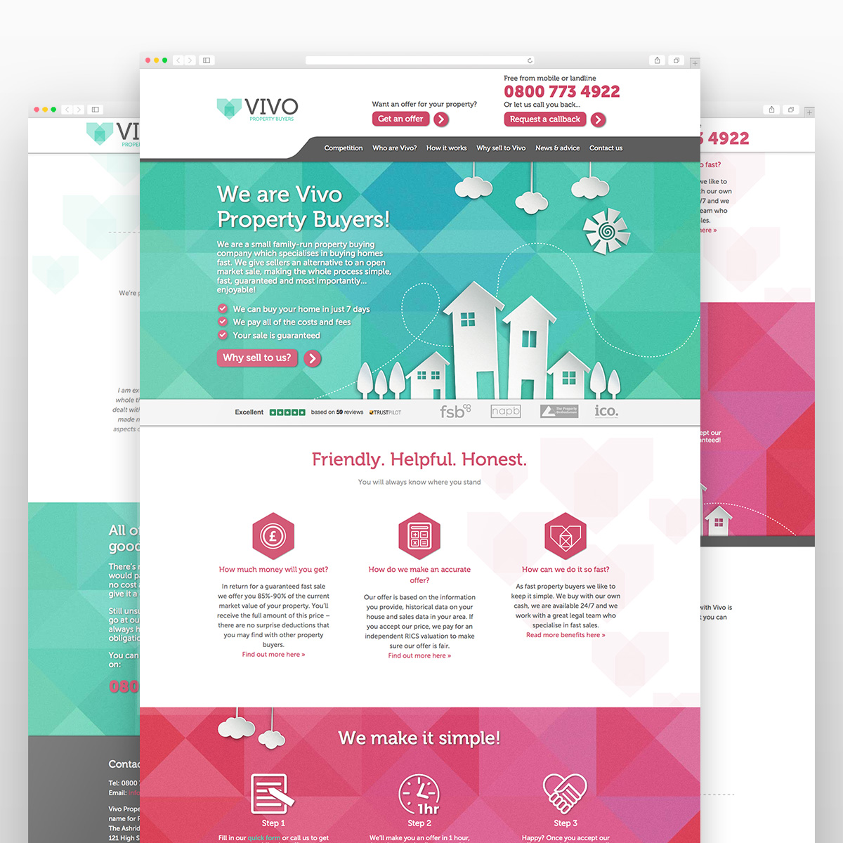 Web Design for Vivo