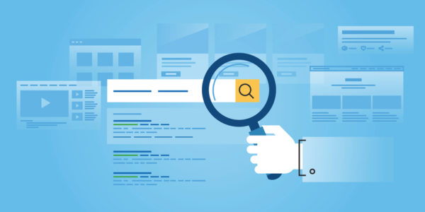 Image of SEO search bar