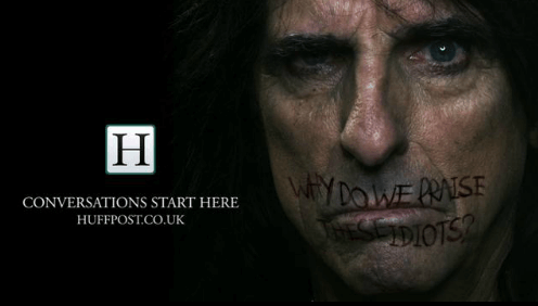 Our award winning campaign, featuring Alice Cooper