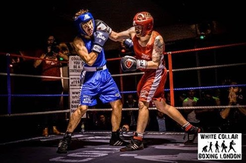 white collar boxing london picture